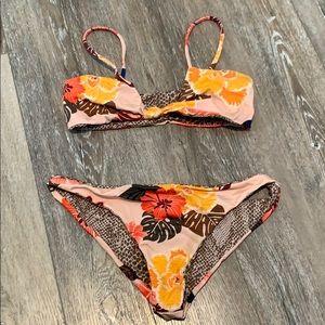 Acacia Swimsuit in Retro Paradise